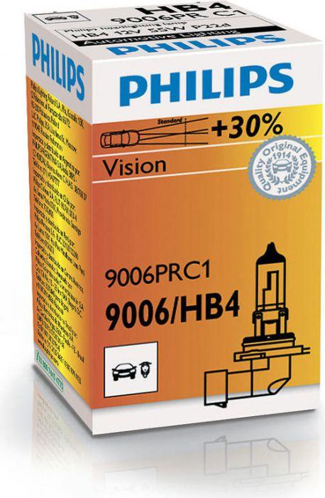 Лампа автомобильная Philips 9006prc1 - фото 6