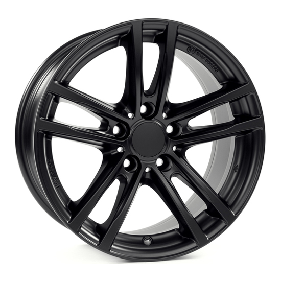 Легковой диск Alutec X10 7,5x17 5x120 ET43 72,6 Racing Black